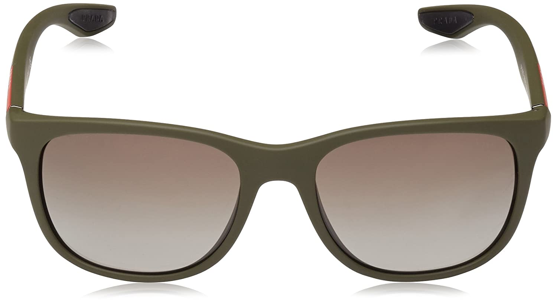 314cd75ecd Prada Mod. 03OS - Gafas de Sol unisex color verde (grün), talla 55:  Amazon.es: Ropa y accesorios
