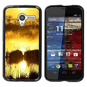 "For Motorola Moto X Motorola Moto X ( 1st Generation ) , S-type Sunset Beautiful Nature 100"" - Arte & diseño plástico duro Fundas Cover Cubre Hard Case Cover"