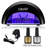 LED Nail Lamp Kit, Elite99 12W Nail Dryer Machine Fast Curing