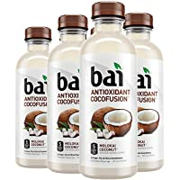 Bai Coconut Flavored Water, Molokai Coconut, Antioxidant Infused Drinks, 18 Fluid Ounce Bottles, 6 count