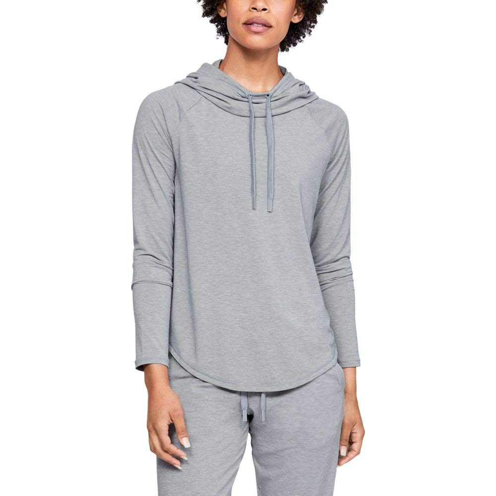 Under Armour Women's V2 Layer, Steel Fade Heather (036)/Metallic Silver, Large