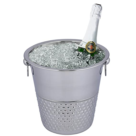 Amazon.com: Kosma – Cubitera de champaña (Acero Inoxidable ...