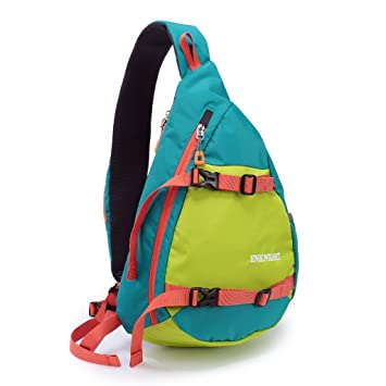 8ad877daa0 ENKNIGHT Waterproof Chest Bag Casual Sling Bag Unbalance Backpack Hiking  Daypack Green