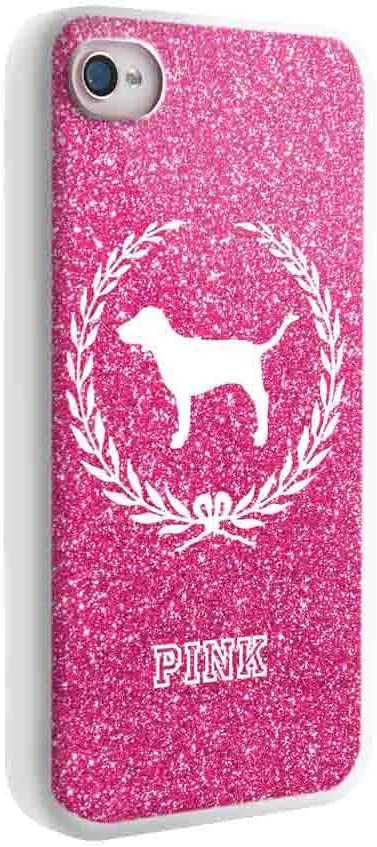 Amour Rose Papier peint VS Victoria Secret pour iPhone et Samsung Galaxy Coque (iPhone 5/5S Blanc)