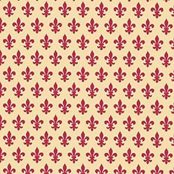 Klebefolie Lilien Möbelfolie Lily braun selbstklebende Dekorfolie 45x200 cm