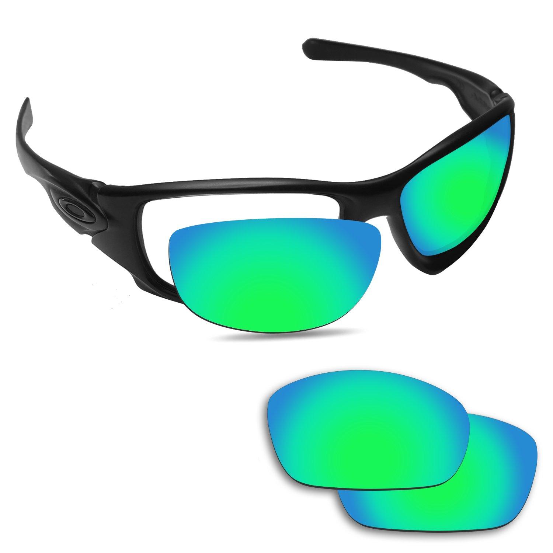 Fiskr Anti-Saltwater Replacement Lenses for Oakley Ten X Sunglasses - Various Colors