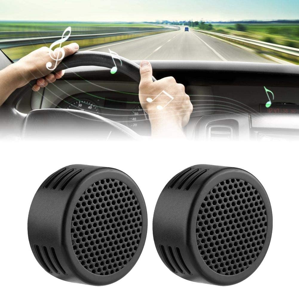 Black Senyar Car Speaker Audio,12V 500W Mini Car Speaker Audio Tweeter 200mm 98dB Loudspeaker Automobile Speaker