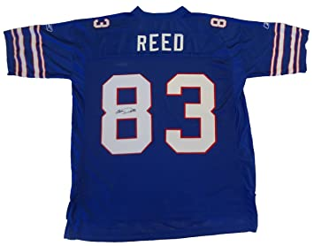 04cddb62 Andre Reed Autographed Buffalo Bills Jersey W/PROOF Picture of Andre ...
