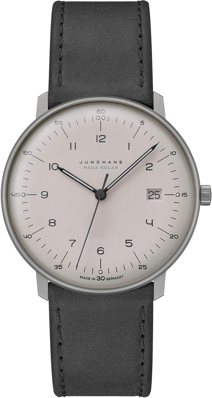 Junghans MAX Bill Mega Solar 059/2023.04 Reloj de Pulsera para Hombres