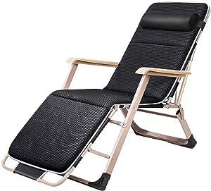 Lounger Relaxation Garden Outdoor Foldable Garden Chair Metal Foldable Sun Camping, Blue