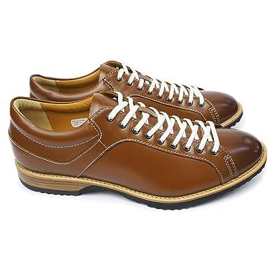 [リーガル] REGAL 靴 57RR カジュアルシューズ メンズ レザー レースアップ ブラウン 23.5cm
