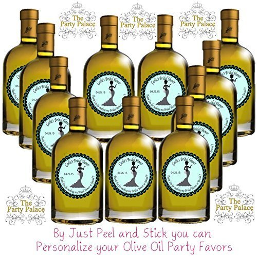 40 Labels Floral Vine - Round Personalized 2'' wedding Party Sticker Labels - Choice Of Size