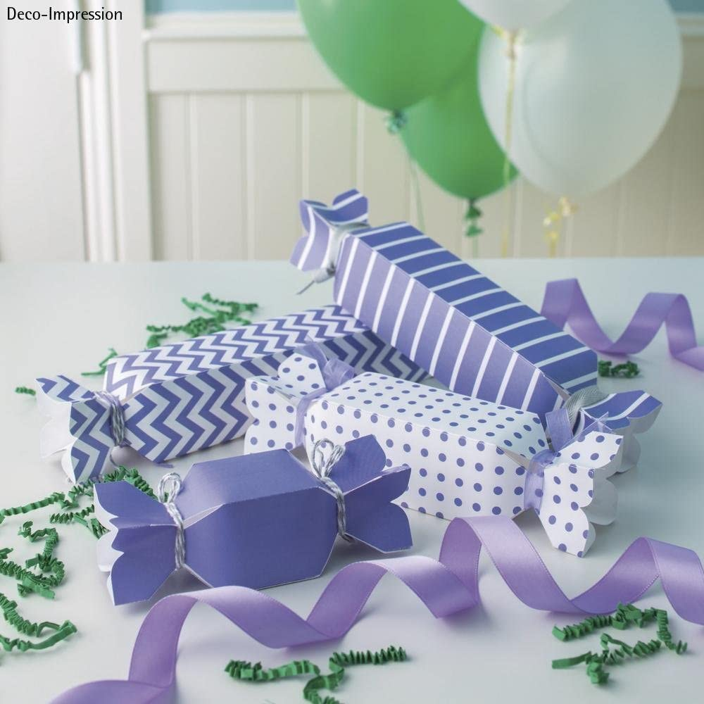 Plastic Purple We R Memory Keepers 58596000/Candy Box Punch Board 27.203/x 14.7/x 4.5/cm Grey