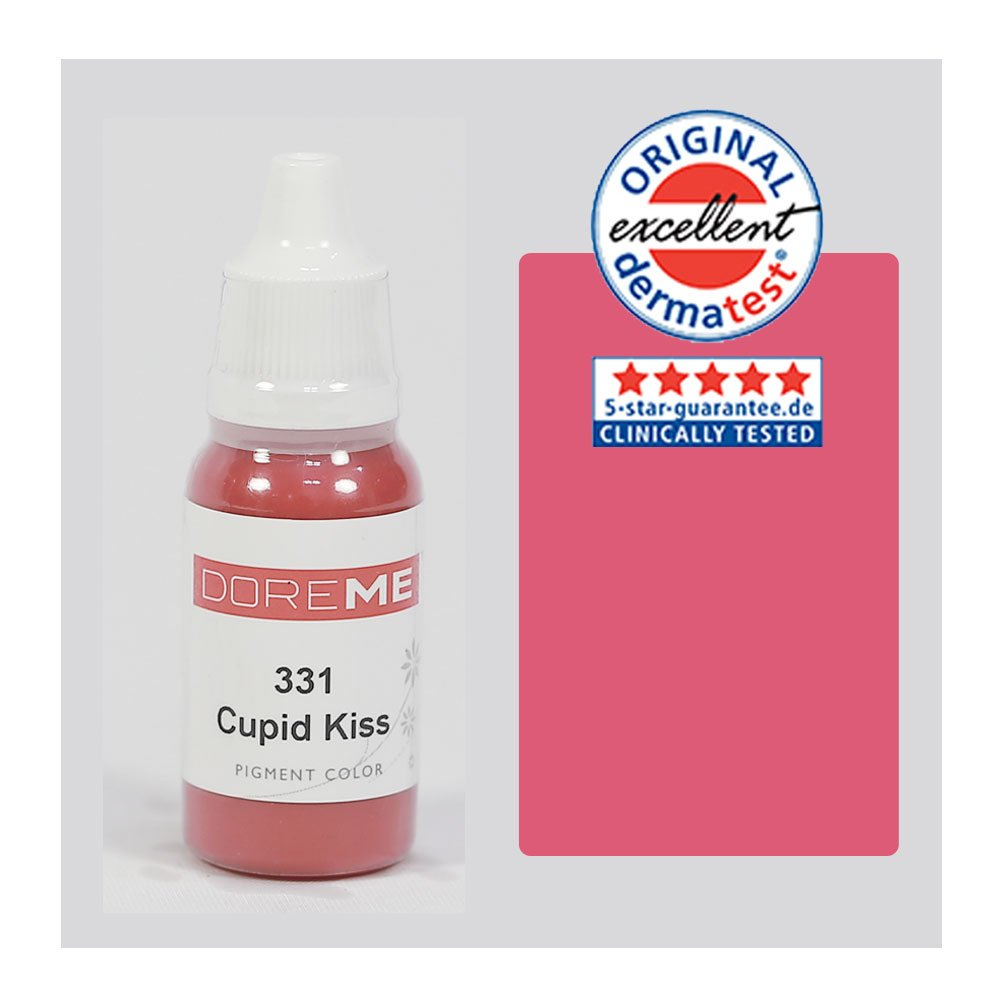 The Elixir Beauty Doreme Professional Permanent Makeup Tattoo Ink Pigment 15ml/bottle for Lip Make up Permanent Body Makeup Lip Ink Tattoo Bachine Beauty Tools, CLINICALLY TESTED, Cupid Kiss