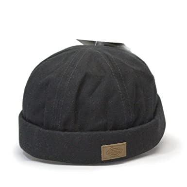 36e470ee Dickies Canvas Black Docker Beanie Adjustable Cap at Amazon Men's ...