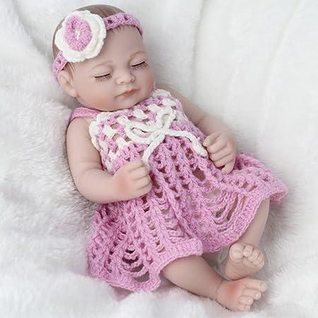 LZTET Vinilo De Silicona Emulación Renacimiento Baby Doll ...