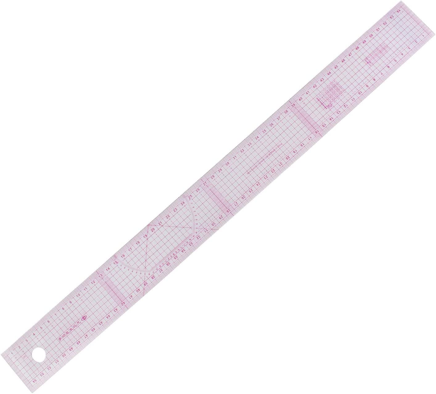 Centimeter//inch RZDEAL 6 Stlye Plastic Fashion Stick Pattern Design Rulers Set Design Craft Sewing Drawing Tool
