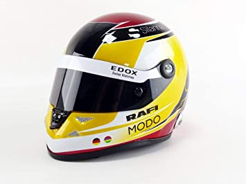 Mini Helmet Coche de ferrocarril de Collection, 9087000233, Color Blanco/Oro/Rojo: Amazon.es: Juguetes y juegos