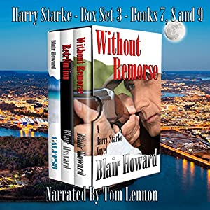 The Harry Starke Series: Books 7-9 Audiobook