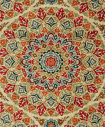 Mohawk Home Strata Jerada Floral Sphere Printed Area Rug, 5'x8', Multicolor by Mohawk Home (Image #8)