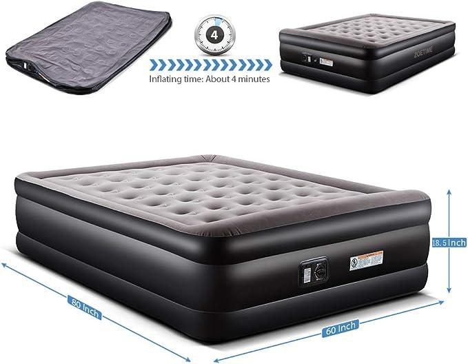 Amazon.com: Zoetime - Colchón de aire Queen - cama inflable ...