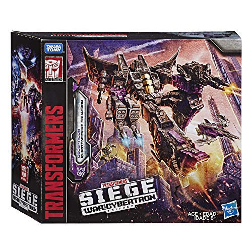 - Transformers Toys Generations War for Cybertron Voyager Wfc-S27 Decepticon Phantomstrike Squadron 4 Pack - Final Strike Figure Series: Part 2 (Amazon Exclusive)