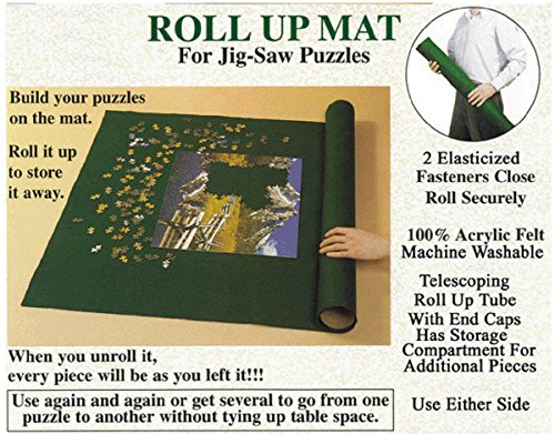 - Puzzle Master Jigsaw Puzzle Roll up Storage System Large 36 X 24