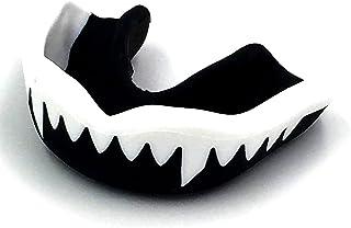 Aisence Gum Shield Bouche Garde Faites bouillir Bite Protège-Dents Fit Protège-Dents pour Ball, bâton et Sports de Combat–Pas d'ébullition ou Fixation requis Claire