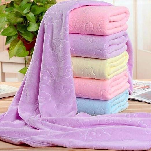 isopeen Superfine Fiber Big Bath Soft Towels Quick Drying Beach Towel Bath Towels 27.6 x 55.1inch