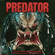Predator Original Motion Picture Soundtrack (Limited Blood Red with Neon Green Predator Blood Splatter Vinyl E