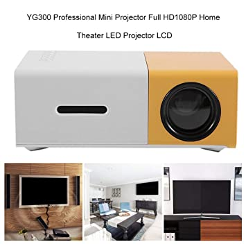 Mini proyector Profesional YG300 Full HD1080P Proyector de ...