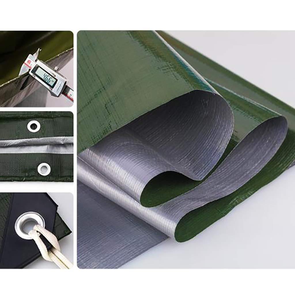 3m4m Hfspb BÂche d'arpaulin bÂche en Plastique Toile d'ombrage de Pluie 180 g mètre voitureré d'épaisseur 0,35 mm