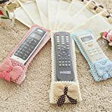 Perfect Life Ideas 3 Pcs Air Condition Tv Remote Control Case Textile Protective Bag For Tv D2H, Dth- 3 Size (Random Color)