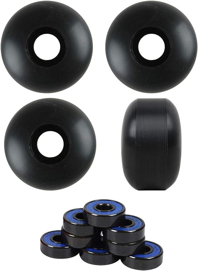 8pcs ABEC-7 Skateboard Bearing Skate Longboard Rollerblade Wheel Truck w// 7Balls