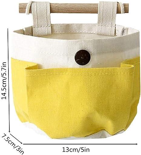H/ängeorganizer,Wand h/ängenden//CIDBEST kreativ 4 Tasche Hanging Storage Bag//H/ängende Kombination//Wand H/ängen H/ängeorganizer//H/ängende Tasche//Debris Beutel// Bad Wand Utensilo,Multifunktionale Wohnzimmer Schlafzimmer H/ängende