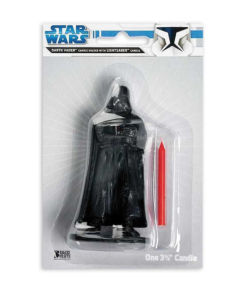 Star Wars Birthday Cake Candle Darth Vader candle