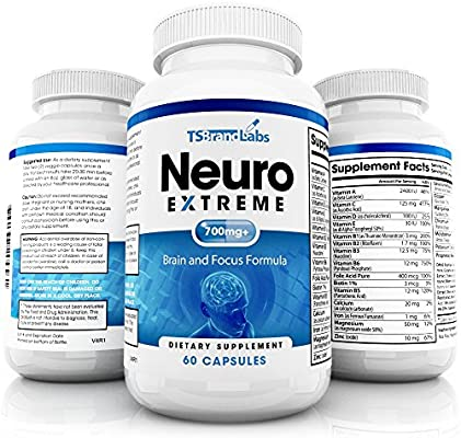 Amazon Com Brain Supplement By Neuro Extreme Memory Supplements