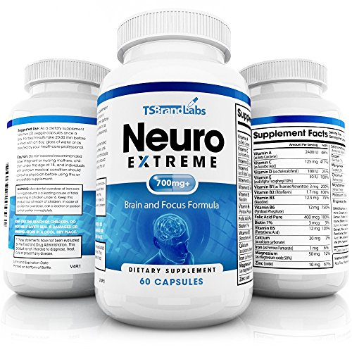 Neuro Extreme Concentration Enhancement Ingredients product image