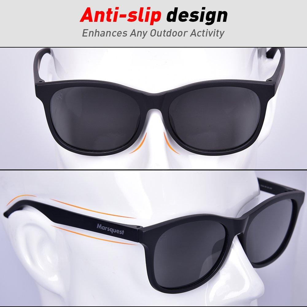 e7b9ae3f902 Mens Polarized Sunglasses - Momentum Memory Material Durable   Lightweight   Amazon.ca  Clothing   Accessories