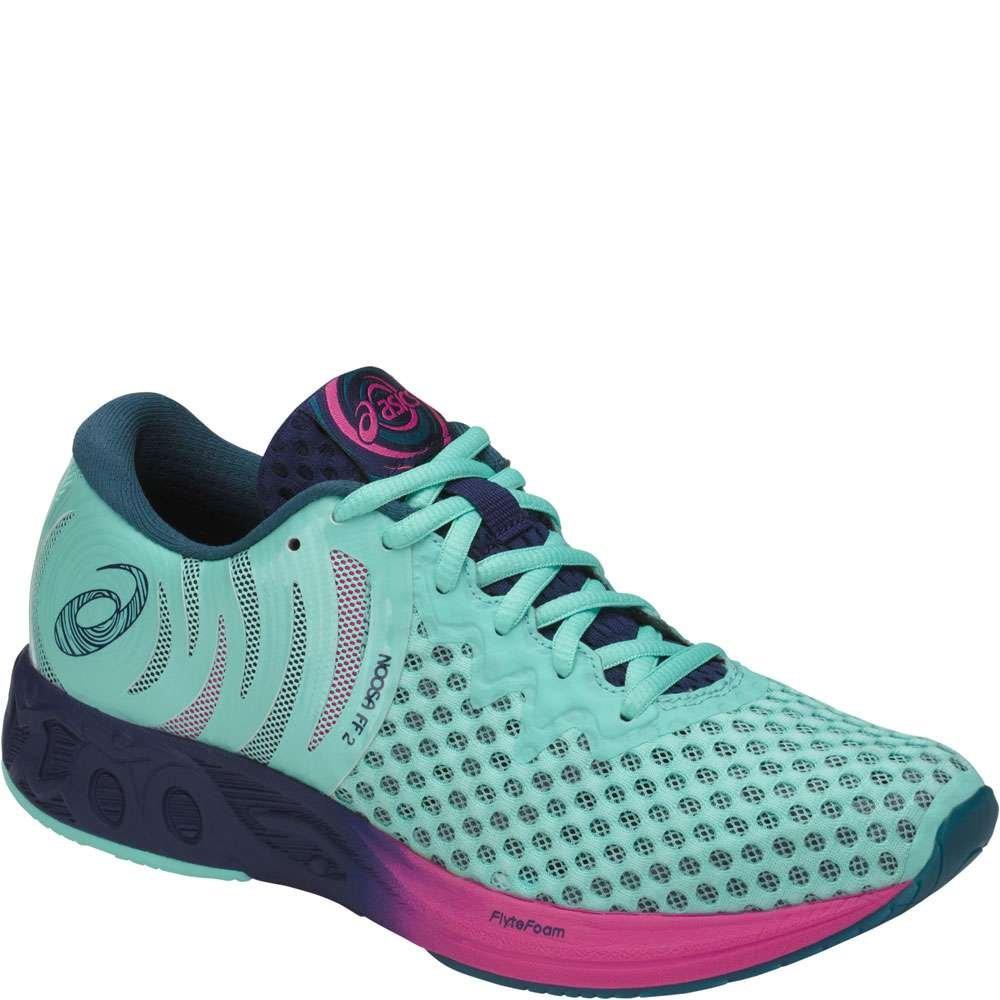 ASICS Womens Noosa FF 2 Running Shoe B071S6FNFR 9 B(M) US|Aruba Blue/Indigo Blue/Fuchsia Purple