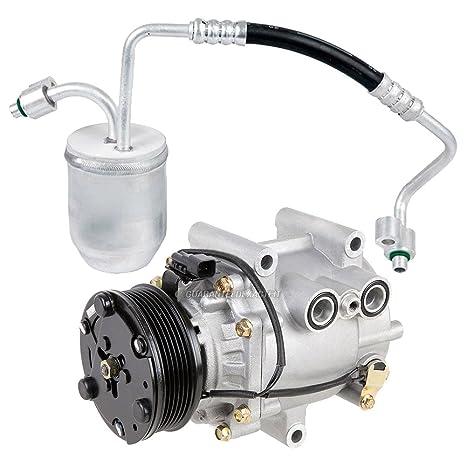 Premium calidad nueva AC Compresor y embrague con a/c secador para Chevy Equinox –