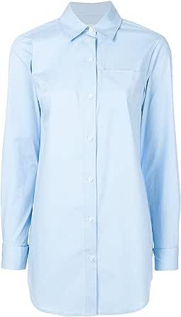 Michael Kors - Camisas - para mujer azul celeste S: Amazon.es ...