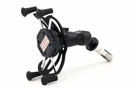 Marco de navegación GPS de la motocicleta Soporte de navegación del teléfono móvil 16-19MM para Kawasaki ZX600 Ninja ZX6RR 2003-2005