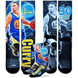 Golden State Warriors Youth Size NBA Drive Crew Kids Socks (4-8 YRS)