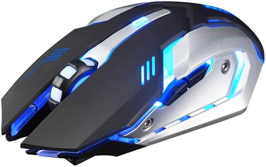 Mouse Black honjedecor New Colorful Crack led Illuminated Backlit USB Wired pc Rainbow Gaming Keyboard tr 1 pcs