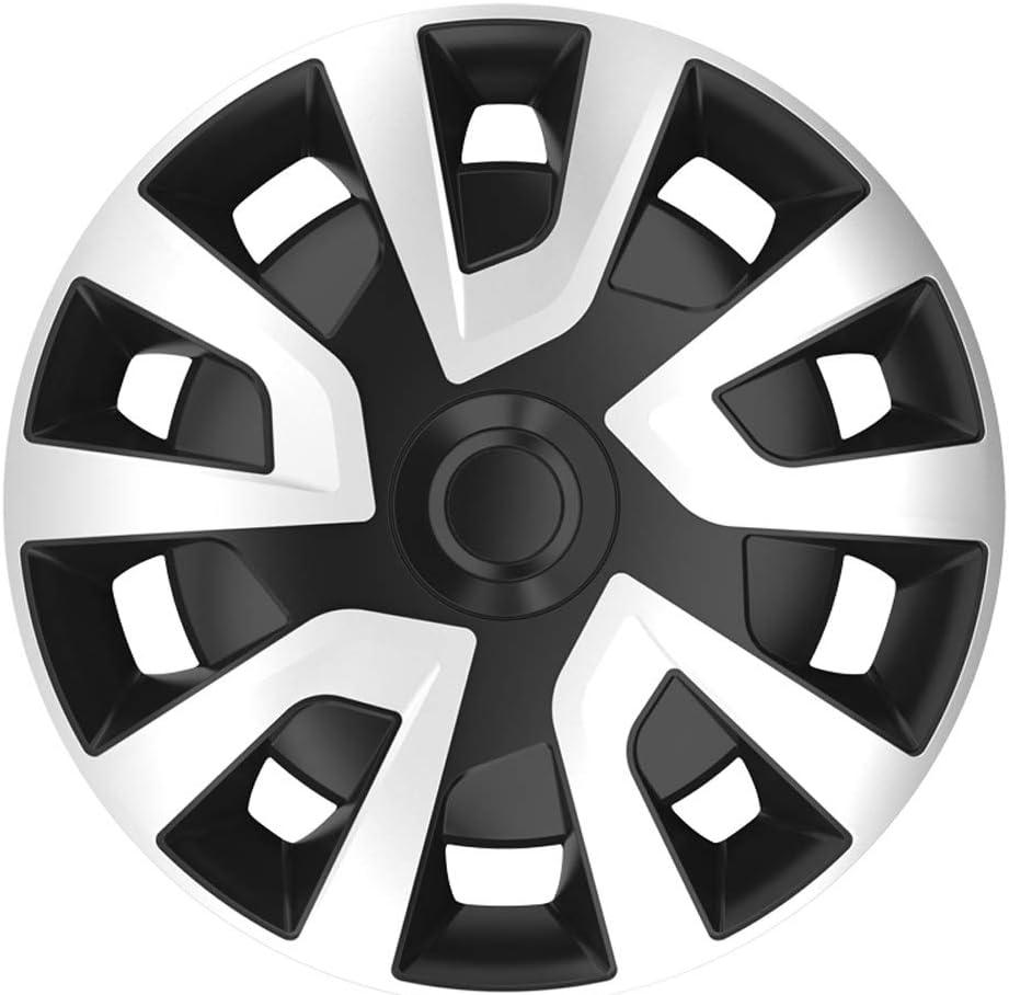 Autostyle Revo Van 16 Silver Black Satz Radzierblenden Revo Van 16 Zoll Silber Schwarz Sphäre Auto