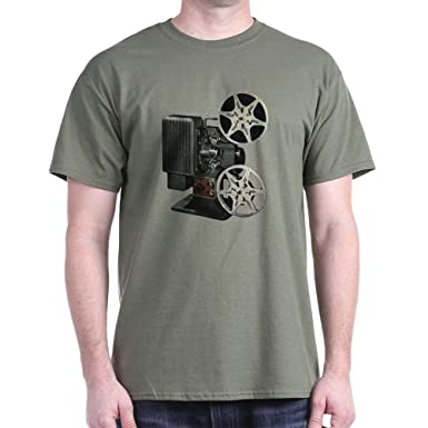 Vintage oscuro Protector de pantalla para proyector T-camiseta de ...