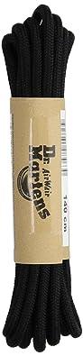 Dr. Martens 140 Cm Round Lace 8 10 I Ea, Black by Dr. Martens