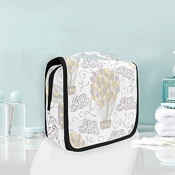Amazon.com: Mr.XZY - Bolsa de maquillaje con diseño de ...