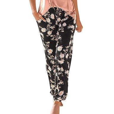 Daringjourney Pantalones Deportivos Mujer MujerPlaya Pies ...